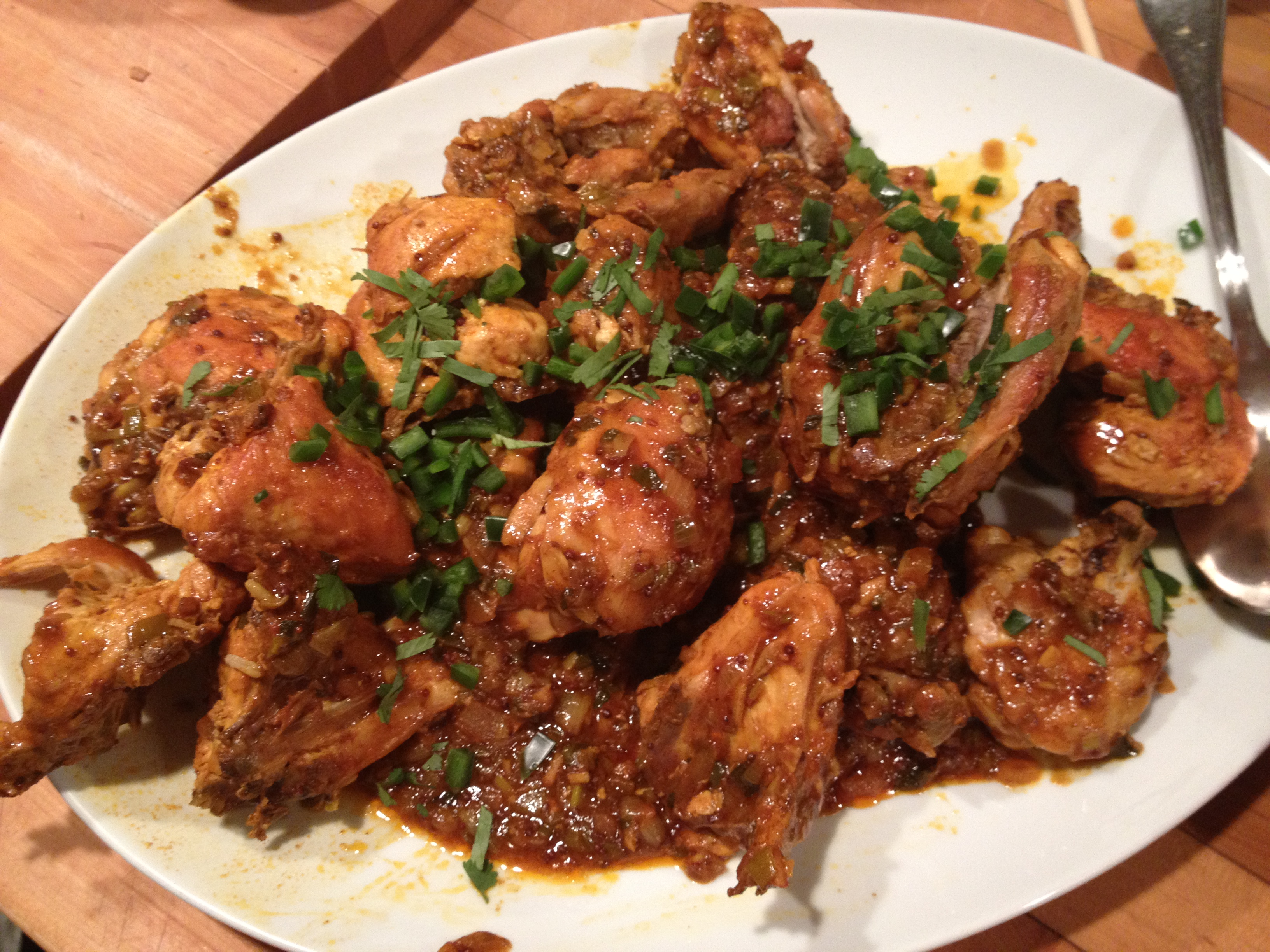 Vindaloo-Spiced Chicken Thighs With Coconut-Tomato Stew ...