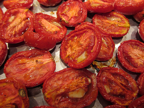 Pasta with Roasted Plum Tomatoes © Karen Lee 2013 post image