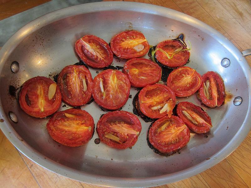 Roasted Plum Tomatoes post image