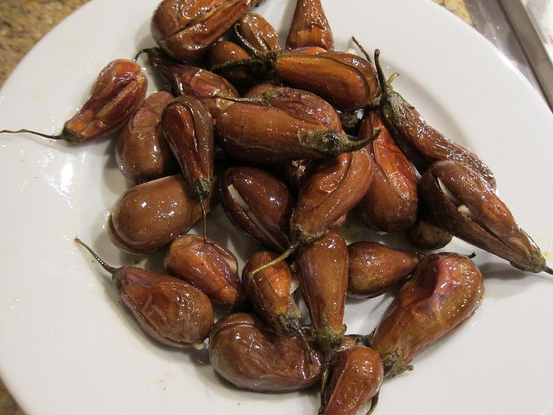Roasted Fairytale Eggplant