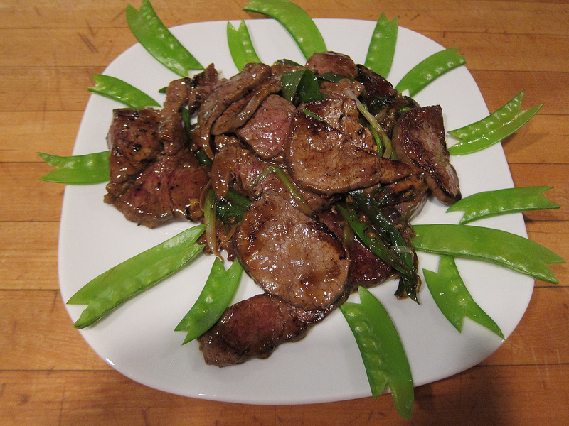 Ginger Beef For The Valentine's Class February 14, 2014 post image