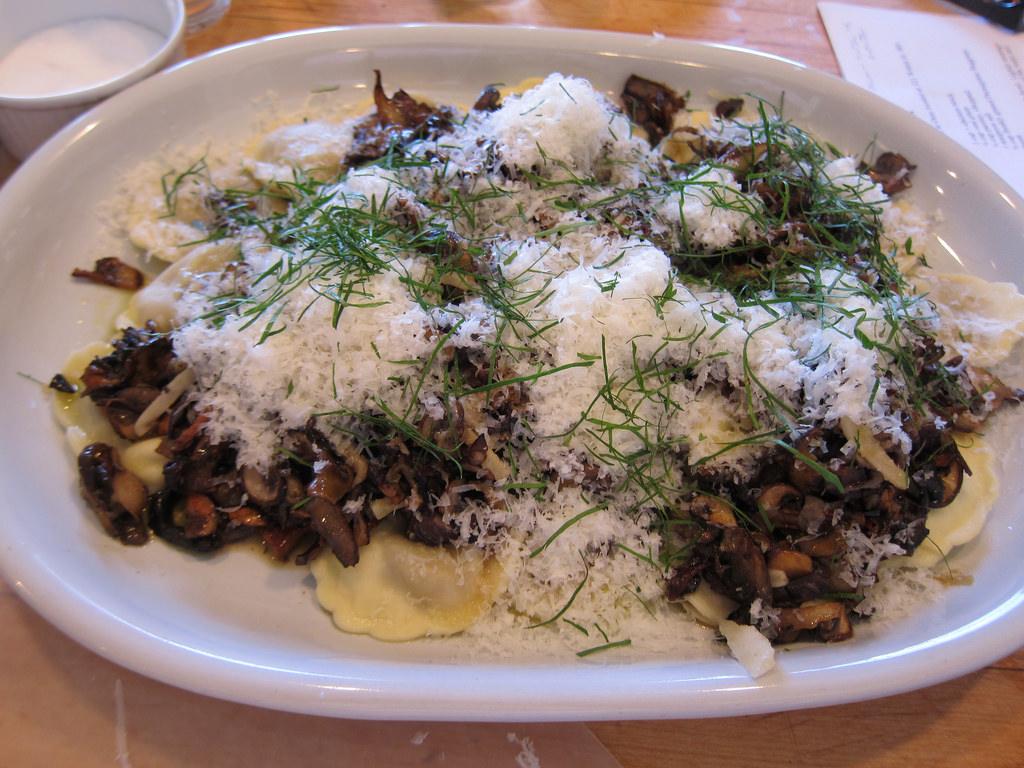 Karen Lee Wild Mushroom Pasta
